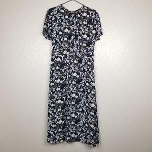 Pendleton Floral Short Sleeve Dress 4